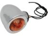 Drag Specialties Dual Filament Bullet Marker Lights, Amber