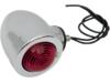 Drag Specialties Dual Filament Bullet Marker Lights, Red