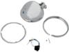 "Drag Specialties 5 3/4"" Bottom-Mount  Headlight Shell w/ Trim Ring"