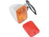Drag Specialties Single Filament Rectangular Mini Marker Light