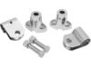 Drag Specialties Front Turn Signal Mounting Bracket Kit, Chrome