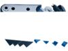 Drag Specialties Rear Turn Signal Relocation Kit, Chrome