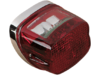 Drag Specialties Rectangular LED Taillight, Chrome
