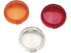 Drag Specialties Replacement Turn Signal Lens, Amber
