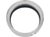 "Drag Specialties 2.0"",5 3/4"" Extended Headlight Trim Ring, Chrome"