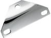 Drag Specialties Front Bottom-Mount Headlight Bracket, Chrome