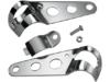 Drag Specialties Side-Mount Headlight Bracket, Chrome