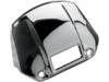 Drag Specialties Headlight Visor Cover, Chrome
