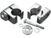 Drag Specialties Chrome Universal Accessory Mounts