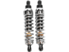 "Progressive Suspension 444 Series Rear Shocks 12"" Chrome"