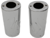 Drag Specialties Natural Steel Fork Slider Covers