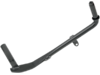 "Drag Specialties Black Steel Custom Replacement Kickstand, 9 1/2"" L"