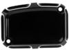 Arlen Ness Front Master Cylinder Cover, Beveled - Black