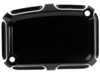 Arlen Ness Rear Master Cylinder Cover, Beveled - Black