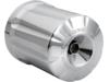 Arlen Ness Re-Usable Billet Oil Filter, Deep Cut - Chrome