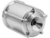 Arlen Ness Re-Usable Billet Oil Filter, Beveled - Chrome