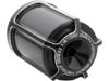 Arlen Ness Re-Usable Billet Oil Filter, Beveled - Black