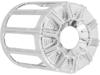 Arlen Ness Oil Filter Cover, 10 gauge - Chrome