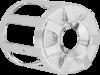 Arlen Ness Oil Filter Cover, Beveled - Chrome