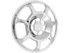 Arlen Ness Speaker Grille, Beveled - Chrome