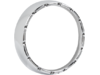 Arlen Ness 7in. Fire-Ring LED Bezel with White LED Running Lights, Chrome