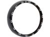 Arlen Ness 7in. Fire-Ring LED Bezel w/ White LED. Running Lights, Black