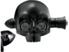 Arlen Ness 2.91in. Xenolen Archfiend Amber LED Indicator Lights, Black