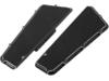 Arlen Ness Beveled Fusion Series Passenger Rear Floorboard, Black