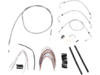 Burly Brand Extended Cable/Brake Line Kit for 18in. Ape Hanger Bar