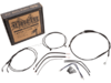 Burly Brand Extended Cable/Brake Line Kit for 15in. Ape Hanger Bar
