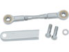 "Drag Specialties 4 3/4"" Shifter Linkage w/ Arm Cover, Chrome"