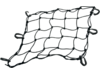 "Drag Specialties 15L"" x 15W"" Cargo Net, Black"
