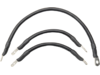 """Drag Specialties 15"""",8"""" Battery Cable Kit, Black"""