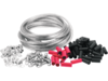 Drag Specialties 25' Custom Cable Kit, Clear
