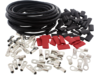 Drag Specialties 25' Custom Solid Cable Kit, Black