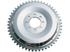 Drag Specialties Rear Brake Drum/Sprocket Set, Chrome