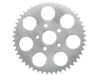 Drag Specialties 48T Flat Rear Wheel Sprocket, Chrome